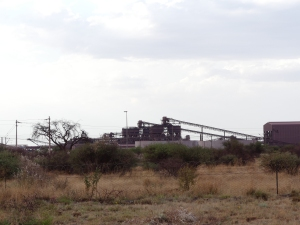Sishen iorn ore mine in Kathu, Northern Cape Province