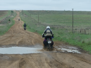 Dirt roads in the Free State