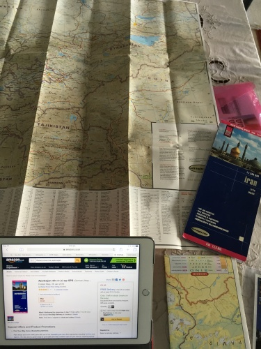Love buying new paper maps!!